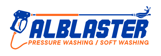Alblaster Pressure Washing Logo